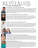 I am Presenting at Revitalize National Health Conference this September!
