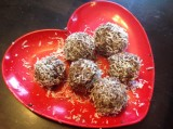 Chocolate-Nana Coconut Balls