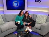 Interviewed on Breakfast Television by my girl crush, the lovely Bridget Ryan!