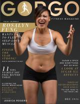 Holistic Body Love Coach & Psychologist on GORGO: A Women's Fitness Magazine Cover Inspiring you to Flex Your Self-Love Muscle